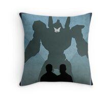 Propaganda Jaeger 5/5 Throw Pillow