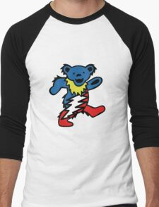 Lightning Bear Men's Baseball ¾ T-Shirt