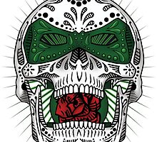 Sugar Skull Series - Green Lantern by howsedesign