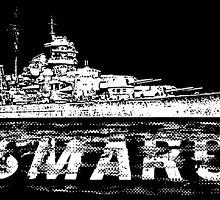 Bismarck by deathdagger