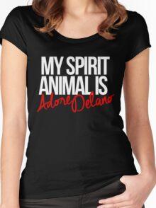Spirit Animal - Adore Delano Women's Fitted Scoop T-Shirt