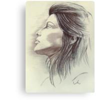 Laetitia in Pastel Canvas Print