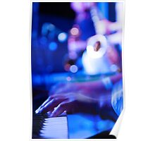 Funky Keyboard Poster