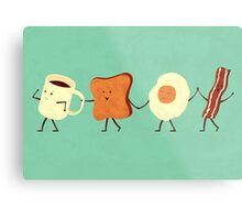 Let's All Go And Have Breakfast Metal Print
