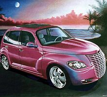 Custom PT Cruiser by brianrolandart
