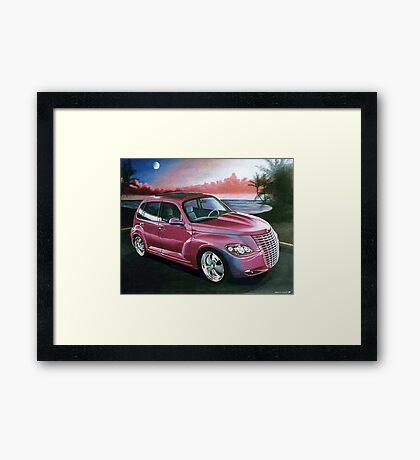 Custom PT Cruiser Framed Print