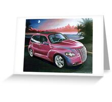Custom PT Cruiser Greeting Card