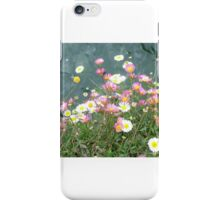 Daisies and Water iPhone Case/Skin