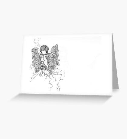 doze. Greeting Card
