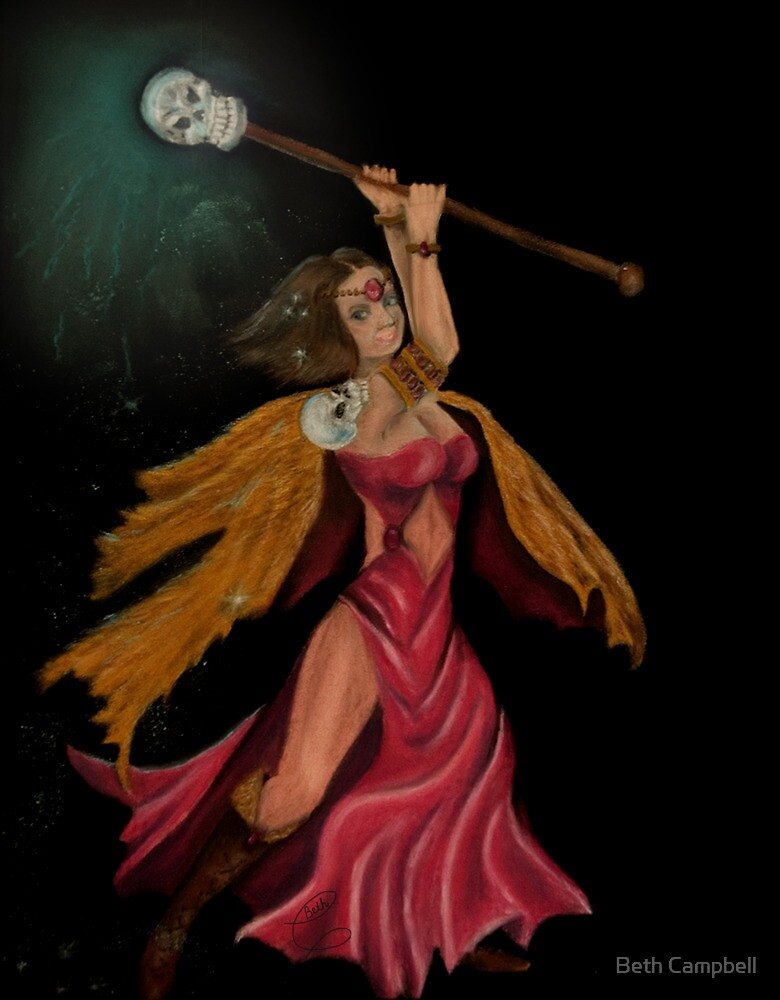 DungeonCrawl  - Samantha by Beth Campbell