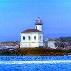 Pacific Coast Light House by DevereauxPrints