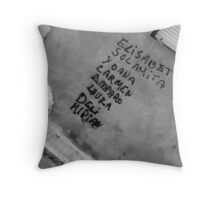 A different slant. Throw Pillow