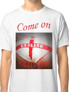 Come On England - Make Us Smile Classic T-Shirt