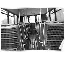 The wheels on the bus.... Poster
