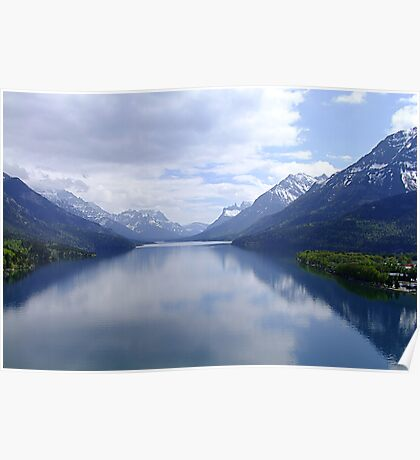 Beautiful Waterton Poster