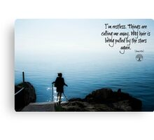 The Wanderluster Canvas Print