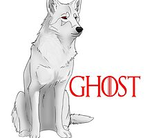 Ghost Game of Thrones by ArrowSPIRITWolf