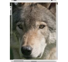 Timber Wolf iPad Case/Skin