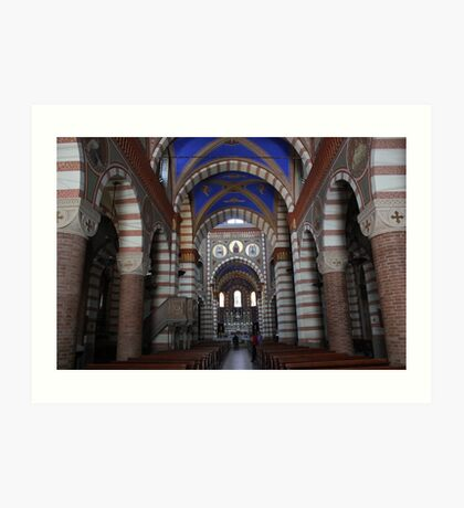 Church of Santa Maria Assunta Art Print