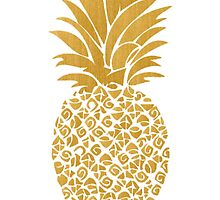 adorable pineapple by Emily Grimaldi