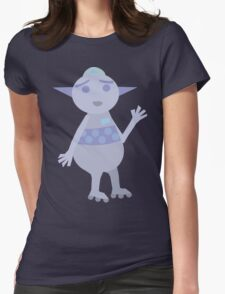 Purple Bot Womens T-Shirt