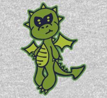 Little Green Dragon One Piece - Long Sleeve