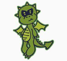 Little Green Dragon Kids Tee
