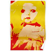 Scary Doll Screenprint #1 Poster