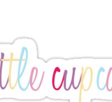 Cute Little Cupcake Sticker