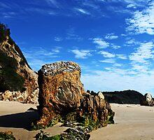 GlassHouse Rocks  Beach #7 by Evita