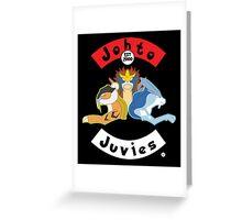 Shiny Beastie Johto Juvies Greeting Card
