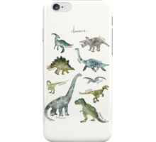 Dinosaurs iPhone Case/Skin