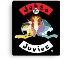 Beastie Johto Juvies Canvas Print