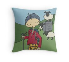 Wildago's Milestone Edmund Throw Pillow