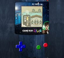 Space And Time traveller Gameboy special edition by Arief Rahman Hakeem