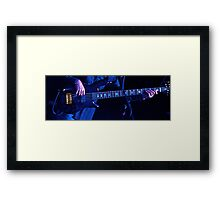 Blue Bass Framed Print