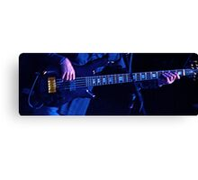 Blue Bass Canvas Print