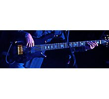 Blue Bass Photographic Print