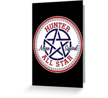 Hunter All Star  Greeting Card
