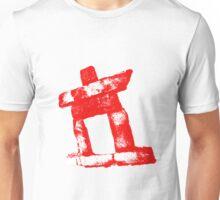 Canada rock man -RED- Unisex T-Shirt
