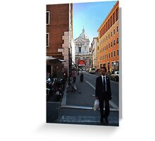 Untitled from Italy Greeting Card