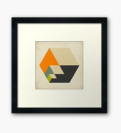 CUBES (15) Framed Print