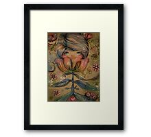 The Heart Garden of Lily Mai Framed Print