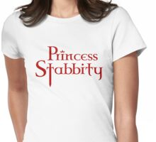 Princess Stabbity (Version 1) Womens Fitted T-Shirt