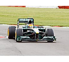 Lotus F1 - Type 127 - 2010  Photographic Print