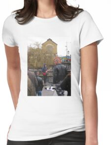 Rebel Yell Womens Fitted T-Shirt