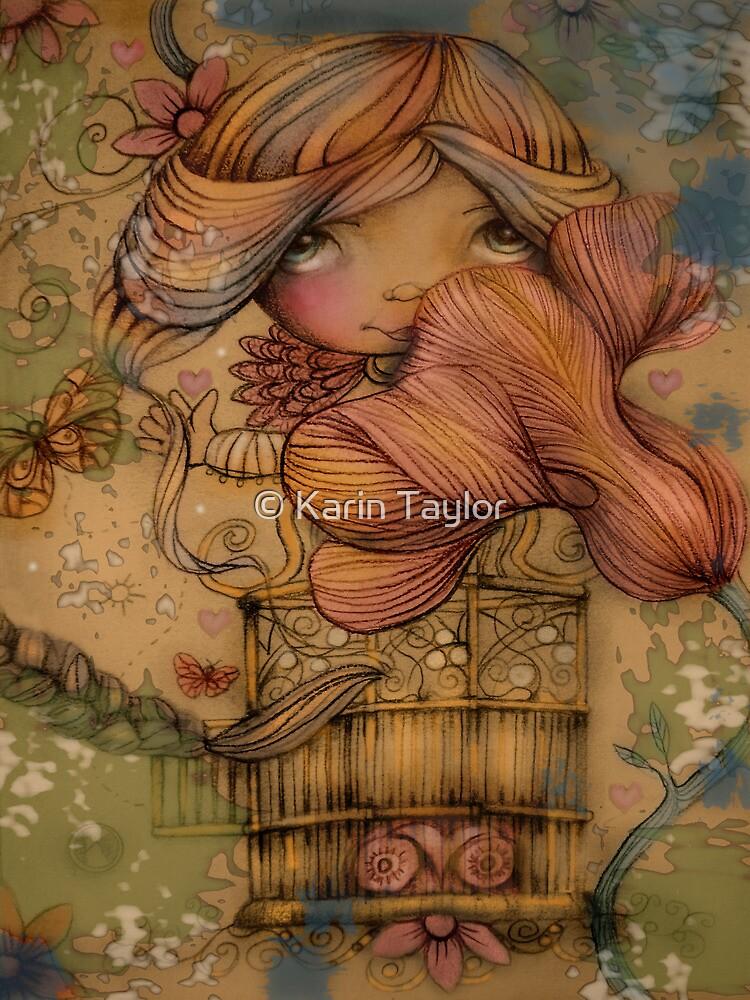 The Heart Garden of Hazel Rose by © Karin Taylor