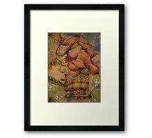 The Heart Garden of Hazel Rose Framed Print