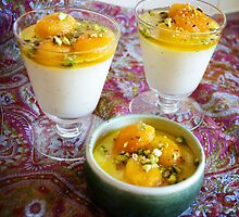 Spiced puddings by Majeeda Malki