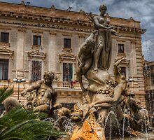 La fontana di Diana - Siracusa by Andrea Rapisarda